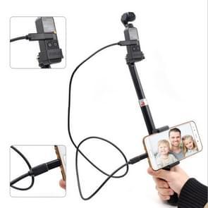 DJI OSMO Pocket draagbare uitschuifbare Selfie Stick vouwen Self Timer staaf voor iPhone