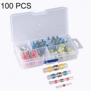 100 stuks / Box professionele waterbestendig soldeer Ring warmte-KRIMPBARE buis