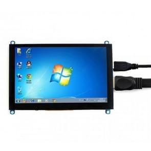 WAVESHARE 5 Inch HDMI LCD (H) 800 x 480 touchscreen voor Raspberry Pi ondersteunt verschillende systemen