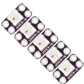 5 stuks LDTR - LB0001 WS2812B RGB LED-licht Module - paars