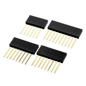 LDTR - PJ0004 vrouwelijke Pin Header Set voor Arduino UNO R3 6 P + 8 P + 10 P - Black