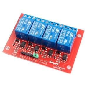 5V 4-CH High Level Trigger Relay Module for Arduino