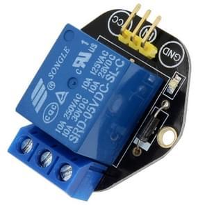 LandaTianrui LDTR-RM06 5V Single Relay Module Compatible with Arduino(Black)