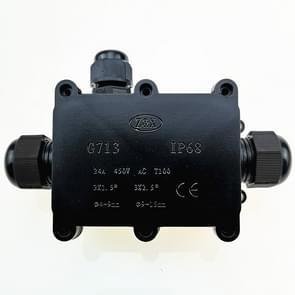 G713 IP68 waterdichte drie-weg Junction box voor de bescherming van printplaat