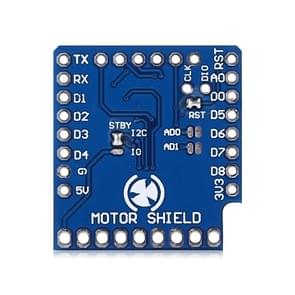 LDTR - WG0094 WAVGAT D1 Mini I2C Dual Motor Driver Shield for TB6612FNG ( 1A ) V1.0.0