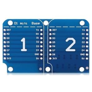 LDTR - WG0085 Dual Base for D1 Mini WiFi Internet Board