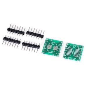 2 PCS Landa Tianrui LDTR - YJ032 / B SOP14 / SSOP14 / TSSOP14 SMD to DIP Dual-side Adapter Board