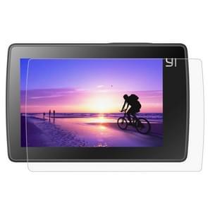 Ultra heldere LCD-scherm beschermings + behuizing glaslens beschermings Film voor Xiaomi Xiaoyi II 4K Camera