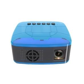 U20 500ANSI Lumens 1080P LCD Technology Mini Portable HD Theater Projector, Support TF, HDMI, AV, USB(Blue)