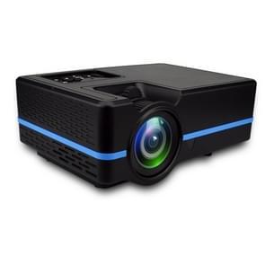 VS313 120ANSI Lumens HD1920*1080P LED+LCD Technology Smart Projector, Support AV / HDMI / TF Card / USB / VGA / TV(Black)