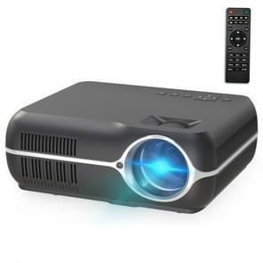 DH-A10 5.8 inch LCD Screen 4200 Lumens 1280 x 800P HD Smart Projector with Remote Control,Android 6.0 OS, Support WiFi, Bluetooth,HDMIx2, USBx2, VGA, AV IN/RCA, RJ45, LAN(Black)