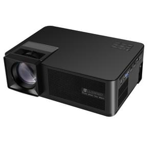CM1 5.8 inch LCD TFT Screen 280 Lumens 1280x768P Smart Projector,Support HDMIx2, USB, SD, VGA, AV, TV, Audio Out(Black)