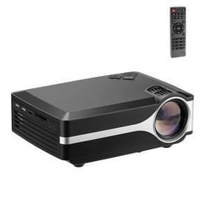 Z495 4 inch Single LCD Display Panel 800x400P Smart Projector with Remote Control, Support AV / VGA / HDMI / USBX2 / TF Card /Audio