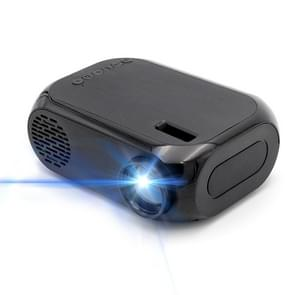 BLJ-111 1920x1080 800 Lumens LCD Portable Home Theater Mini Projector, Support HDMI / SD / USB / AV (Black)