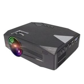 BLJ-333 1920x1080 2000 Lumens LCD Portable Home Theater Mini Projector, Support HDMI / SD / USB / AV / VGA (Black)