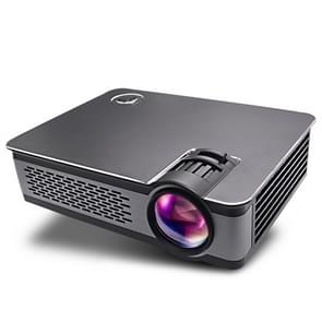 Wejoy L5 Home Theater Adjustable Optical Keystone Full HD 1080P LED LCD Video Projector with Remote Control(Black)