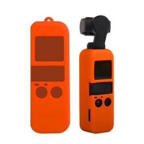 Non-slip Dust-proof Cover Silicone Sleeve for DJI OSMO Pocket(Orange)
