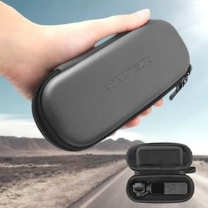 Sunnylife OP-B151 Portable Mini Diamond Texture PU Lederen opbergtas voor DJI OSMO Pocket Gimble Camera