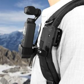 Sunnylife OP-Q9196 metalen Adapter + zak Clip voor DJI OSMO Pocket