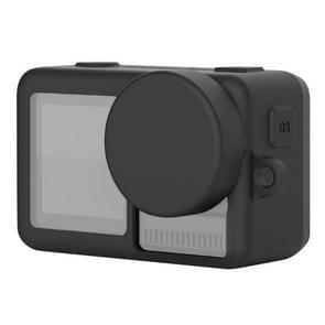 Siliconen beschermhoes met lens cover & Lanyards voor DJI osmo Action (zwart)