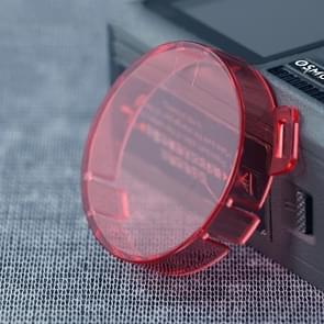 Magnetische lens filter met ronde vorm kleur voor DJI osmo-actie (roze)