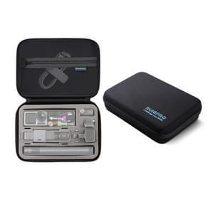 RUIGPRO Oxford waterdichte opbergdoos Case tas voor DJI OSMO Pocket Gimble camera/OSMO actie  grootte: 24x 16.5 x8cm (zwart)