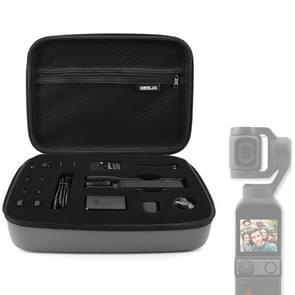 STARTRCWaterproof PU Carry Case Body en Accessoires Opbergtas voor DJI OSMO Pocket / OSMO Pocket 2(Grijs)