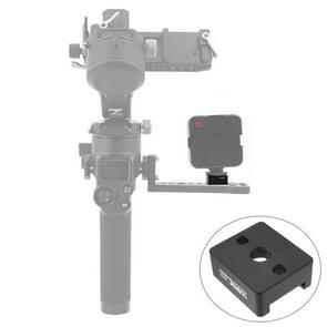 STARTRC 1108468 Koude schoen poort aluminium legering adapter plaat 1/4 Schroef adapter voor DJI RONIN-SC 2