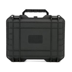 Waterdichte explosiebestendige draagbare veiligheidsbeschermende doos voor DJI Osmo Mobile 3 / 4 (Zwart)