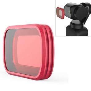 PGYTECH P-18C-016 Licht rood snorkelfilter Beroep Duikkleurenlensfilter voor DJI Osmo Pocket