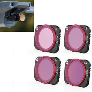4 PCS PGYTECH P-16A-035 NDPL8 / 16 / 32 / 64 Lens Filter voor DJI Mavic Air 2 Drone Accessoires