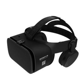 BOBOVR Z6 Virtual Reality 3D-videobril geschikt voor 4 7-6 3 inch smartphone met Bluetooth-headset (zwart)