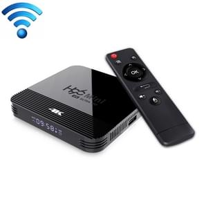 H96 MINI H8 4K UHD Smart TV box met afstandsbediening  Android 9 0 RK3228A Quad-Core Cortex-A7  2GB + 16GB  ondersteuning WiFi & BT & AV & HDMI & Ethernet (zwart)