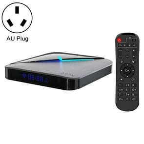 A95X F3 Air 4K RGB licht Smart TV BOX Android 9,0 media speler met afstandsbediening, Quad-Core Amlogic S905X3, RAM: 4GB, ROM: 32GB, AU plug
