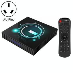 A95X F3 Slim 4K Smart TV BOX Android 9.0 Media Player wtih Remote Control, Quad-core Amlogic S905X3, RAM: 4GB, ROM: 32GB, AU Plug
