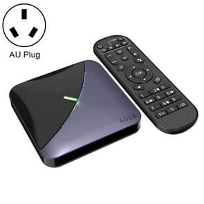 A95X F3 RGB licht 4K Smart TV BOX Android 9,0 media speler met afstandsbediening, Quad-Core Amlogic S905X3, RAM: 4GB, ROM: 32GB, AU plug