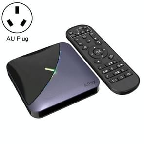 A95X F3 RGB licht 4K Smart TV BOX Android 9,0 media speler met afstandsbediening, Quad-Core Amlogic S905X3, RAM: 4GB, ROM: 64GB, AU plug