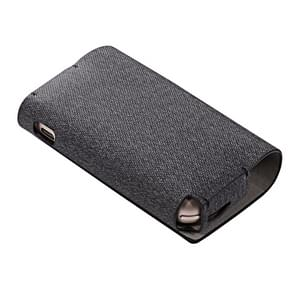 Cloth+PU Leather Magnetic Electronic Cigarette Protective Case for IQOS 3.0 (Black)