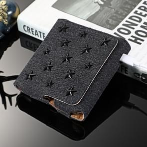 Pentagram Electronic Cigarette Denim Storage Bag for IQOS 3.0 (Black)
