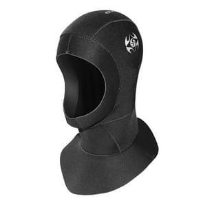 SLINX 1131 3mm Neoprene Waterproof Warm Ear Protection Diving Hood, Size: L