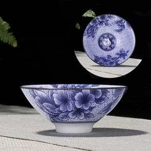 Huishoudelijke handgeschilderde keramiek Kung Fu thee set theekopje Tea Bowl  maat: klein (zegen)