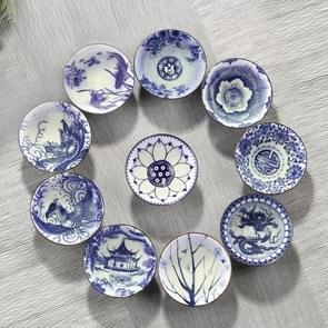 10 stuks huishoudelijke hand geschilderde keramiek Kung Fu thee set theekopje Tea Bowl  maat: klein