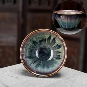 2 PCS Kiln Transmutation Kongfu Bowl Ceramic Tea Cup 5