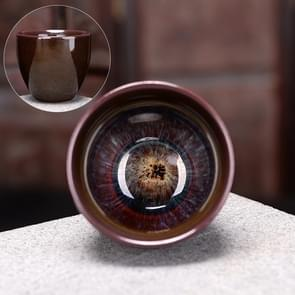 2 PCS Kiln Transmutation Kongfu Bowl Ceramic Tea Cup 7