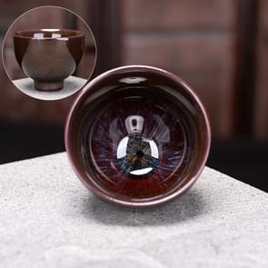 2 PCS Kiln Transmutation Kongfu Bowl Ceramic Tea Cup 8
