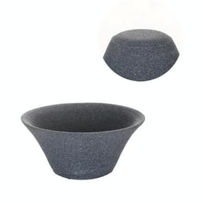 Non-porous Alumina Ore Tea Filter Creative Ceramic Filter Tea Strainer Tea Accessories(Bamboo hats fine-hole filtration)