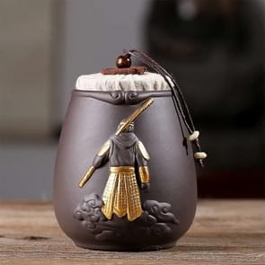 Ceramic Tea Cans Teaism Accessories(Sun Wukong Tea Can)