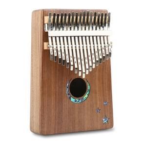Thumb Piano Kalimba 17-tone Finger Piano Beginners Entry Portable Musical Instrument Kalimba Finger Piano(Moon)