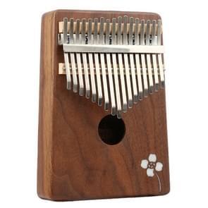 Thumb Piano Kalimba 17-tone Finger Piano Beginners Entry Portable Musical Instrument Kalimba Finger Piano(Acacia)
