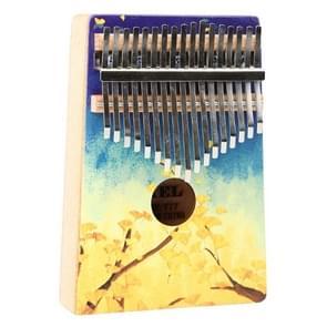 Thumb Piano Kalimba 17-tone Finger Piano Beginners Entry Portable Musical Instrument Kalimba Finger Piano(YC-03)
